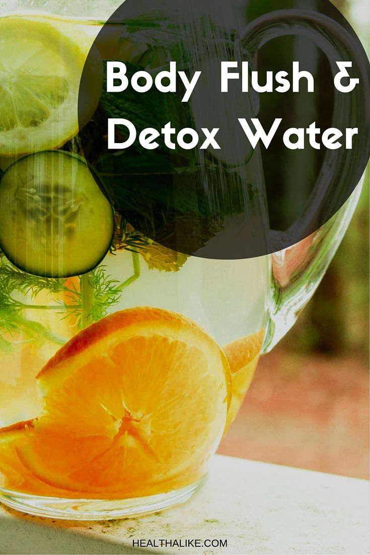 Detox water is not only a tasty way to get the daily water, but it is also good for the digestive system!