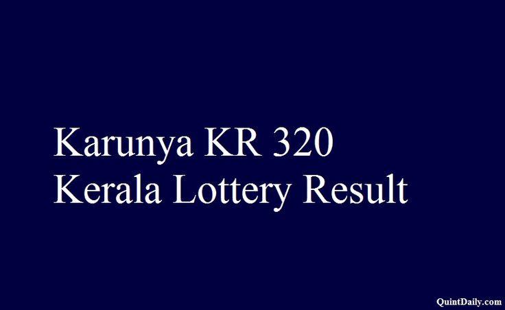 Karunya KR 320,Kerala Lottery Result,Kerala Lottery Result 18.11.17,Karunya Lottery Result,Karunya KR320 Lottery result,Saturday Lottery result.