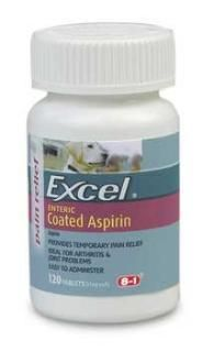 8in1 Excel Aspirin 81 mg. 120 Tabs