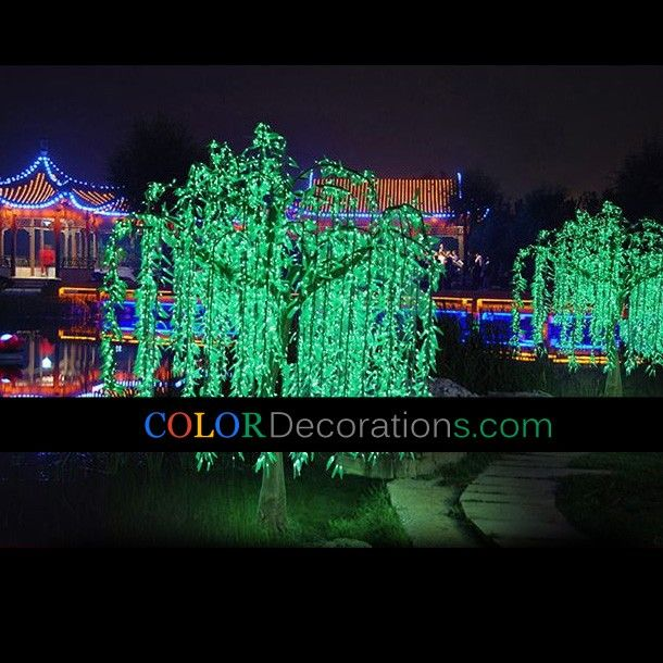 19 best led light tree images on pinterest string lights cd lt101 outdoor decorative light trees willow tree lights christmas light decorations led landscape aloadofball Image collections
