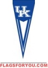 """Kentucky Wildcats Yard Pennant 34"""" x 14"""""""