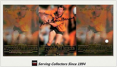 Rugby League NRL Cards 25583: 1995 Australia Rugby Union Trading Cards Signature--Nick Farr-Jones--Ultra Rare! -> BUY IT NOW ONLY: $220 on eBay!