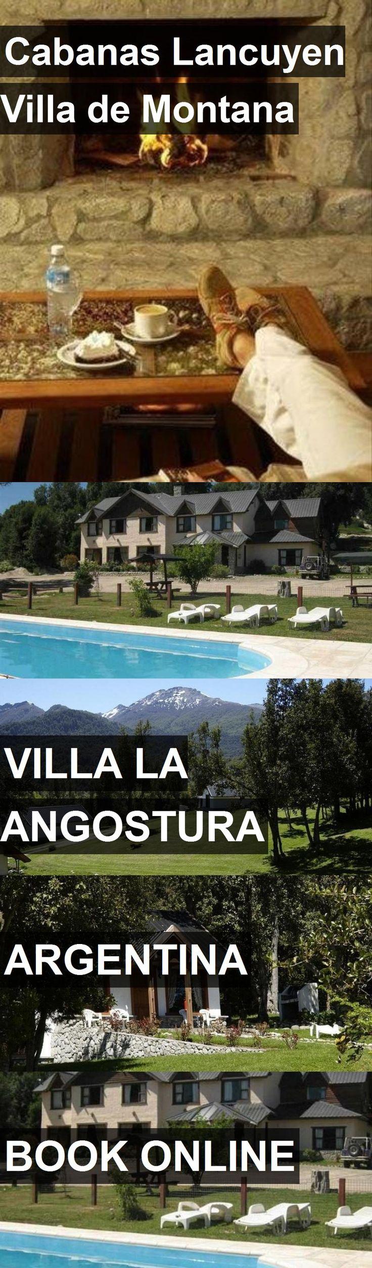 Hotel Cabanas Lancuyen Villa de Montana in Villa la Angostura, Argentina. For more information, photos, reviews and best prices please follow the link. #Argentina #VillalaAngostura #travel #vacation #hotel