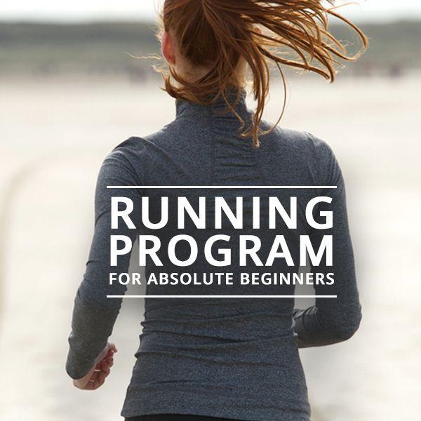 Running Program for Absolute Beginners -  This program is a FREE download. Start working on your summer body now!  #runningplanforbeginners #halfmarathon