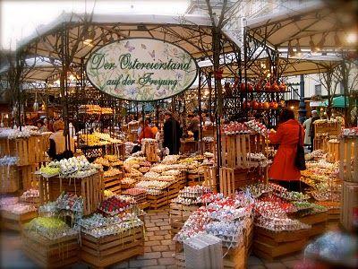 Vienna's Freyung Easter Market