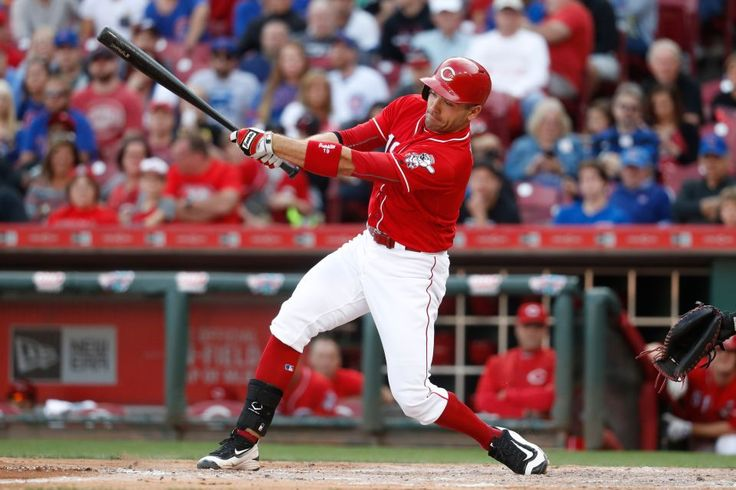 Top 50 MLB players for 2017:     16. Joey Votto, 33, Cincinnati Reds, 1B:     Votto is an on-base machine, with a career .425 percentage, who has averaged 22 homers over 10 seasons while toiling for a mostly uncompetitive Reds team. Been chasing his MVP year since winning the trophy in 2010.