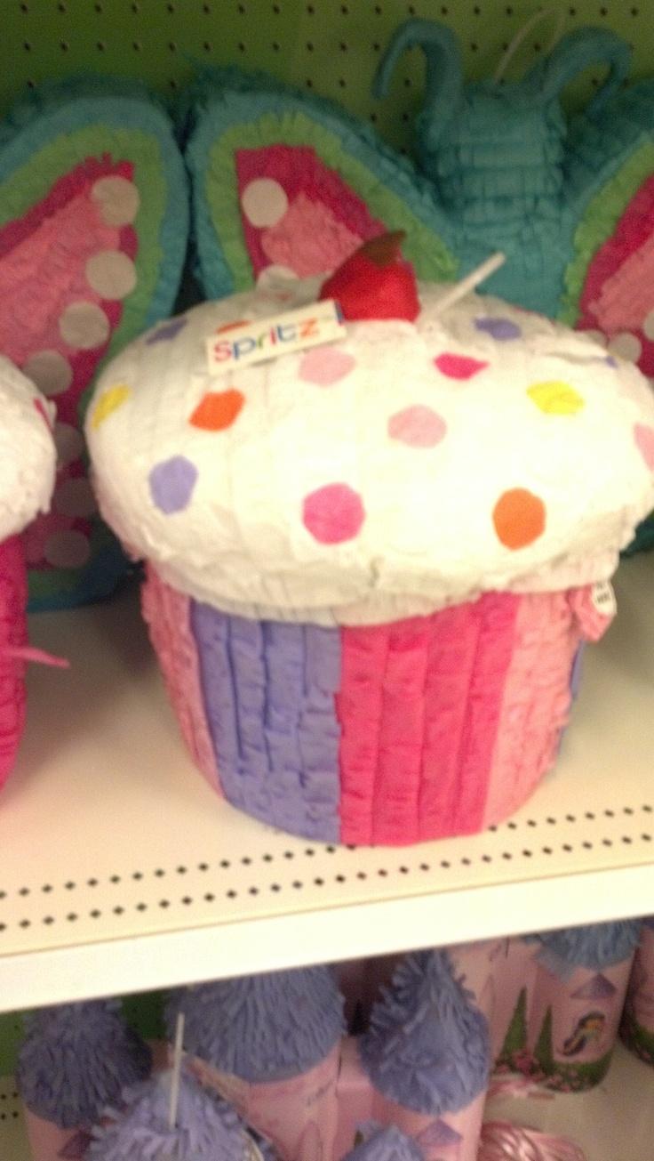 Cupcake pinata!