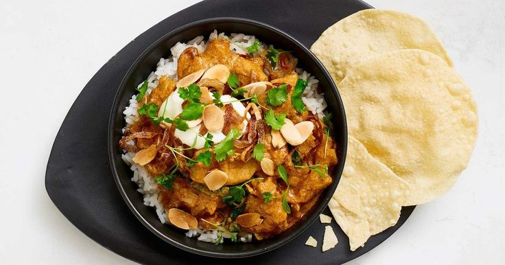 With only 10 minute prep time, this creamy slow-cooker butter chicken is sure to be a family favourite.
