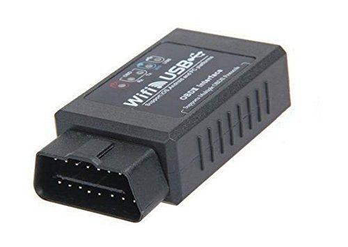 EXZA® Interface de diagnostic automobile Wi-Fi/USB version V2.0 EOBD OBD2pour iPhone iOS: À 99,9% Un véhicule avec interface OBD2EOBD…