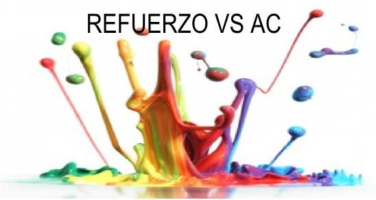 Diferencia entre Refuerzo (R) y Adaptación Curricular Significativa (AC)