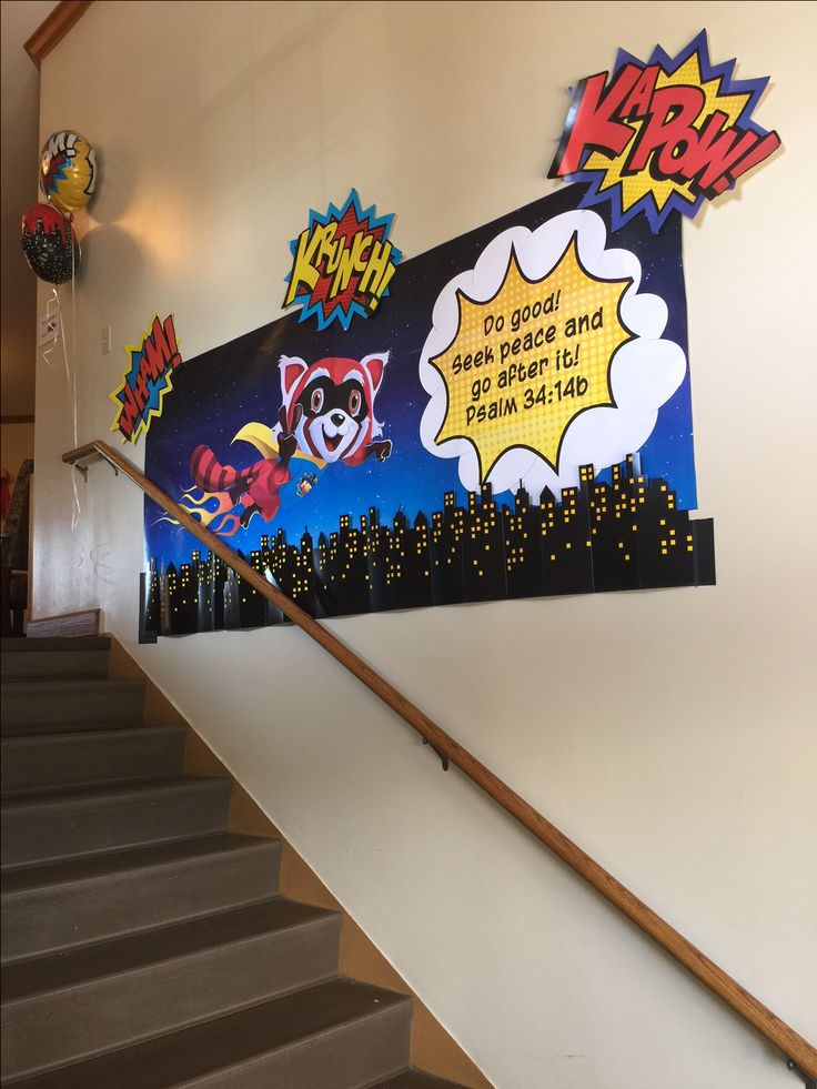 280 best images about vbs hero central on pinterest the for Decorated bible
