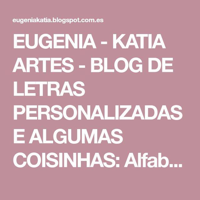 EUGENIA - KATIA ARTES - BLOG DE LETRAS PERSONALIZADAS E ALGUMAS COISINHAS: Alfabeto Ursinha rosa