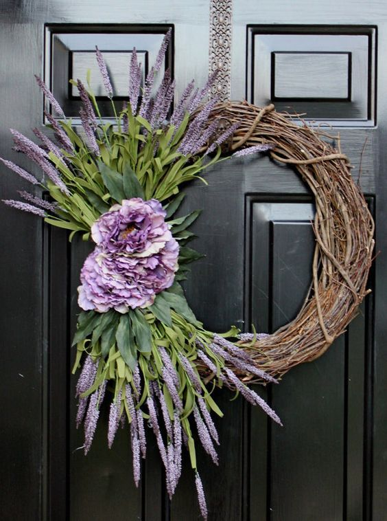 very large grapevine wreath ideas | Mother's Day Wreath Summer Wreath Spring Wreaths by OurSentiments, $62 ...