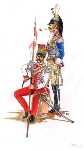Naples Chevau-leger Royal Guard 1810 Cuirassier 1814