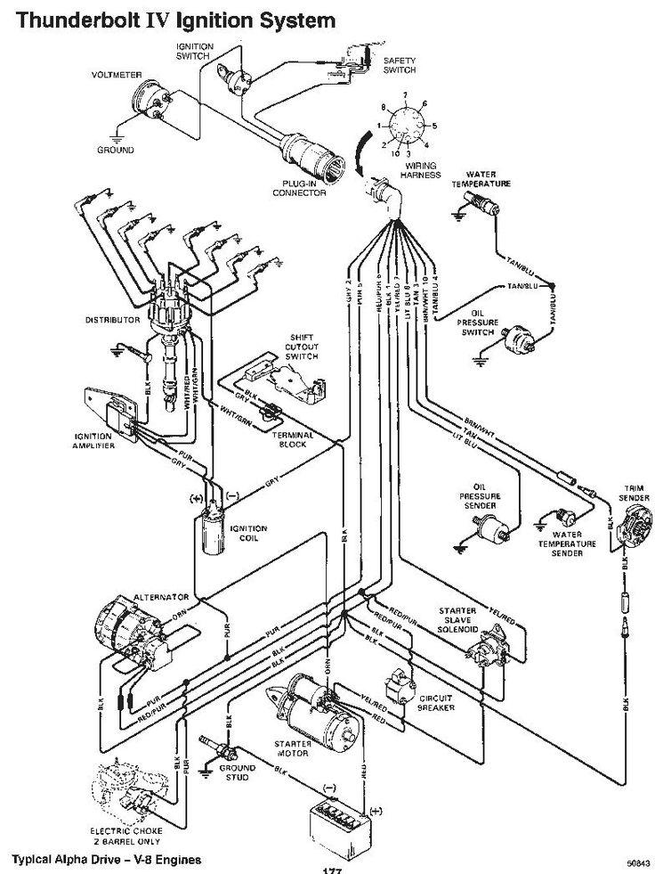 5 7 Mercruiser Starter Wiring Diagram  Wiring Diagrams