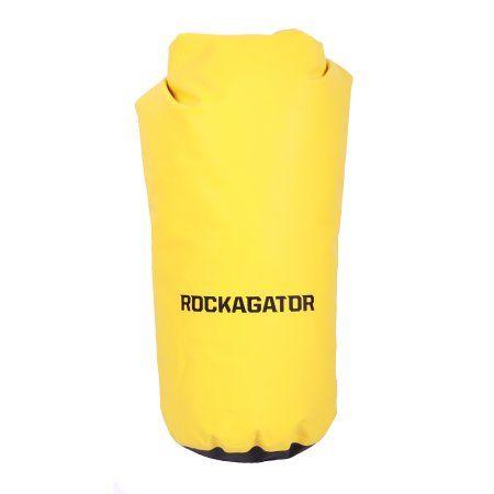 Rockagator 50 Liter Waterproof Shoulder Sling Dry Bag Rucksack (Yellow/Black)
