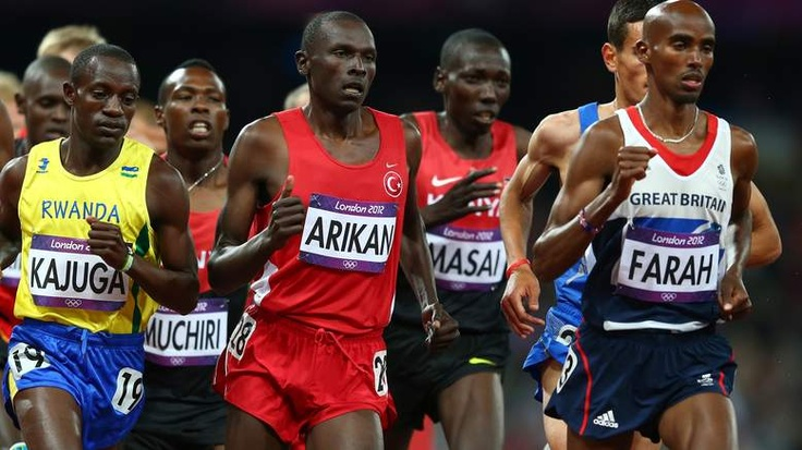 Somali-born Farah blew away the field to take the 10,000 meter title and win the gold for Great Britain.