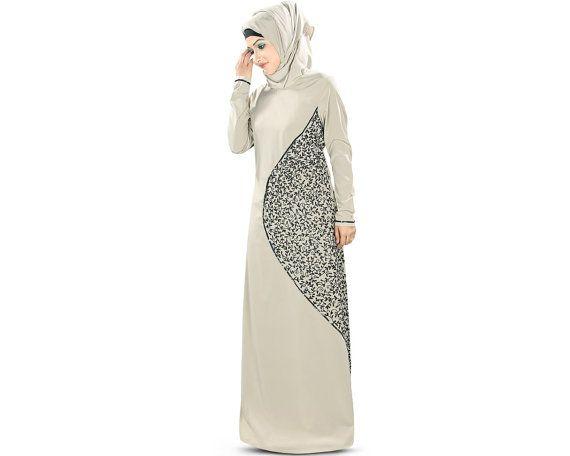 MyBatua Elegant Embroidered Abaya, Jilbab, Burka, Formal & Occasion Wear, Ladies Maxi Dress, Islamic Clothing, Muslim Dress AY-346
