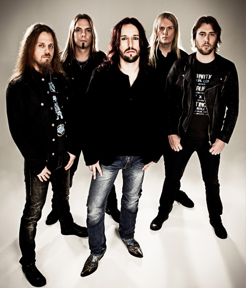 Sonata Arctica--beautiful heavy metal music that I love--compliments of my lovely husband:)