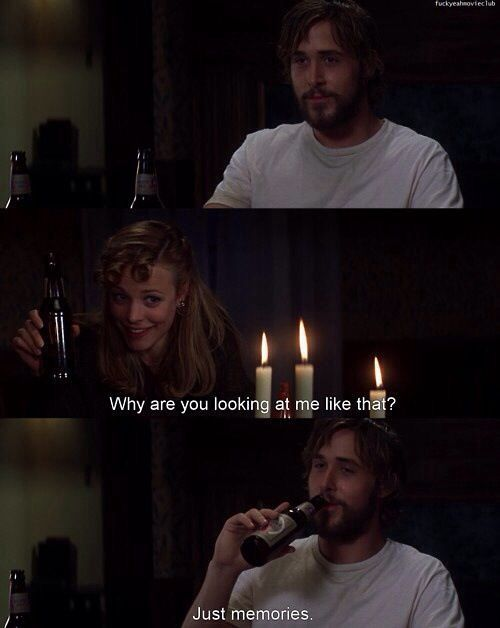 To watch the notebook- great. To actually live this-AMAZING