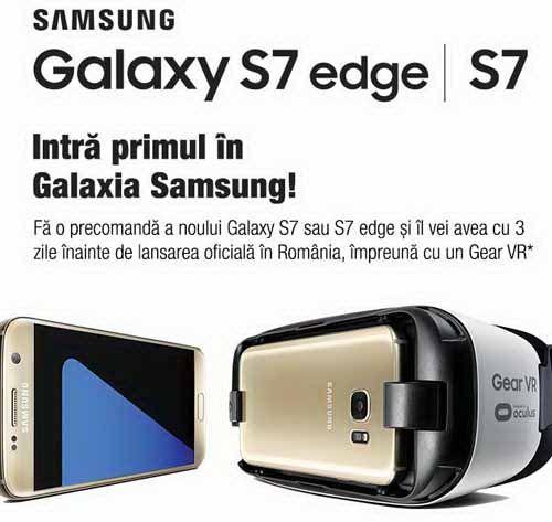 S-a lansat Samsung Galaxy S7 si Samsung Glaxy S7 Edge! | Cashback Shopping