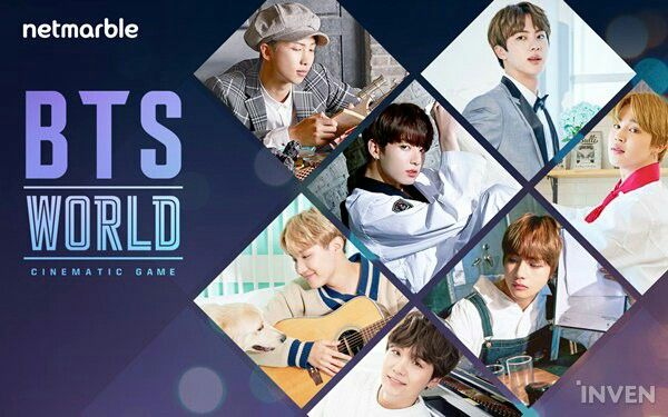 The BTS월드 Game! ❤ netmarble will be releasing a collabo game with BTS called 'BTS WORLD', where BTS are the main characters. A realistic-cinematic game where the user is a manager and raises the BTS members directly on there own. Just for the game there is 10,000 photos and 100 cinematic videos. BTS had photoshoots, acted and recorded the game's OST which will be released. The game is to be released in the first part of 2018. Bang Junhyuk the chairman of netmarble is Bang PDs cousin #BTS…