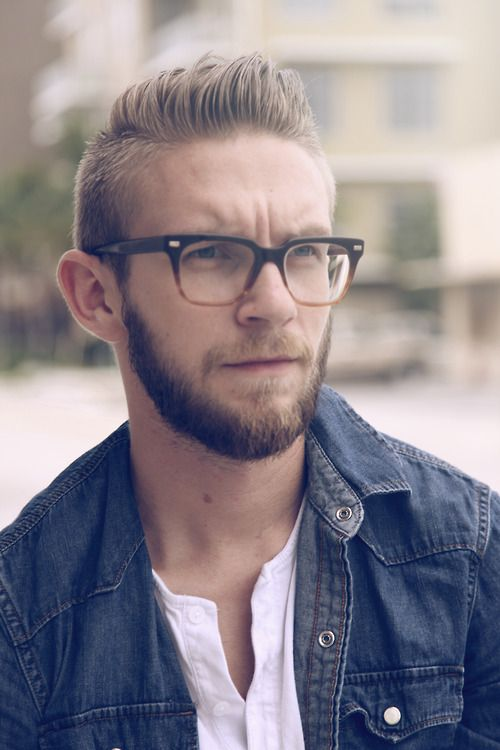 Hairstyles For Glasses Male : RE: Cool Hairstyles for Men with Glasses: Ideas and Pictures