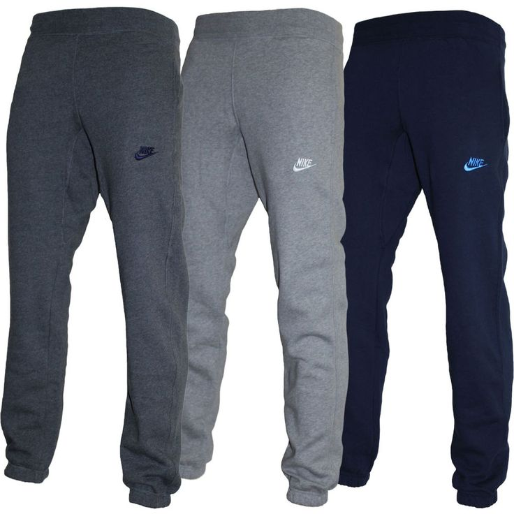 New Mens Nike Fleece Joggers, Tracksuit Bottoms, Track Sweat Jogging Pants in Clothes, Shoes & Accessories, Men's Clothing, Activewear | eBay