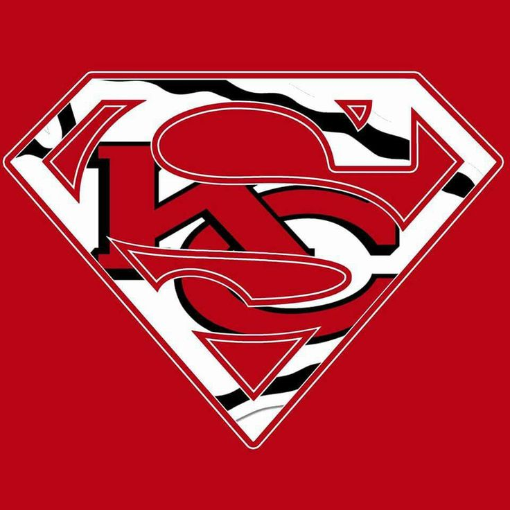 KANSAS CITY CHIEFS...........SUPERMEN Would male an awesome logo on a shirt.