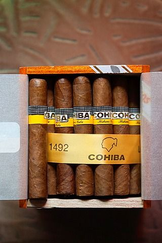 Cuba, Pinar del Río, Pinar del Río, los cigarros cubanos en la tienda Casa del Habano