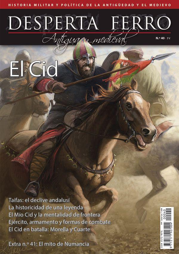 """Portada de """"El Cid"""", n.º40 de Desperta Ferro Antigua y Medieval. © Radu Oltean"""