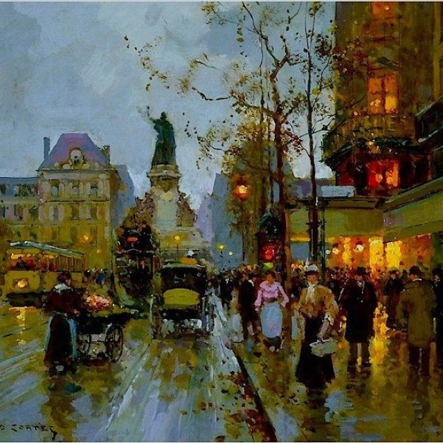 Artist: Edouard Leon Cortes | art in 2019 | Paris art, Art ...