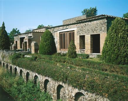 *POMPEII,ITALY ~ Villa of the Mysteries, Pompeii (UNESCO World Heritage List, 1997), Campania. Roman Civilization, 1st Century BC.