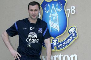 Everton youth coach Duncan Ferguson