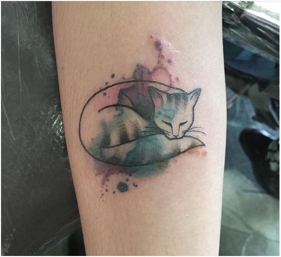 les 68 meilleures images du tableau tatouages tattoos chats cats sur pinterest chats chat tat. Black Bedroom Furniture Sets. Home Design Ideas