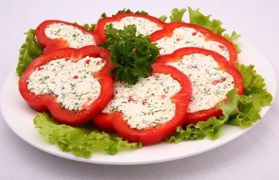Snack Sweet Peppers Recipe
