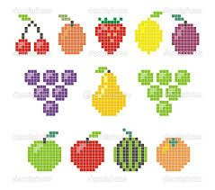 Image result for pacman fruit images