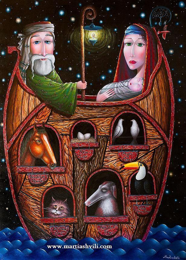 Ноев ковчег \ Noah's Ark  100Х150 (есть в наличии \ in stock)
