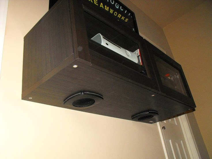 Venting Besta - install computer fans to provide air flow to prevent systems overheating! Perfect for game room