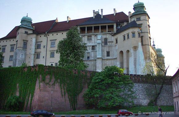 Castle Wawel, Old District, Krakow, Poland