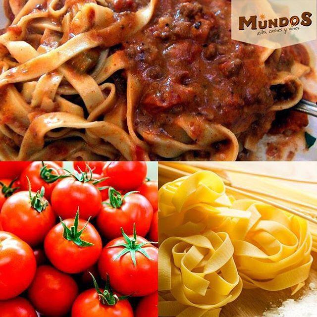 ¿Te gusta la pasta? En #MundosRestaurante también la encuentras: fetuccini, linguini y farfalle. Escoge la que más te guste. Reserva en el tel. 5371835 o en www.mundos.com.co