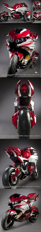 Dragon TT Atila 1000 R, diferente o que acha? #superbike #motos #velocidade http://timevencedor.com: