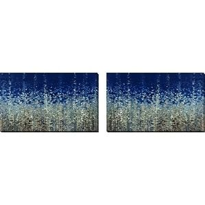 Perfect Mark Lawrence 'You Are Not Alone. Psalm 40:1-3' Wall Art Sets of 2