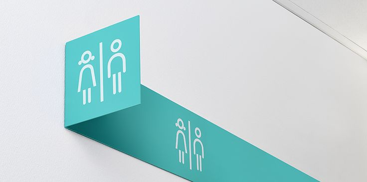 Brand Identity and signage for private health & aged care organisation Aleris by Bold.