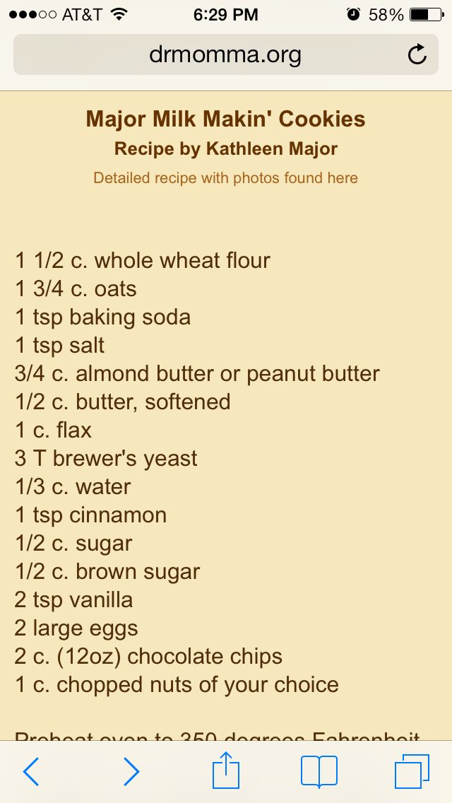 http://www.drmomma.org/2010/08/lactation-cookies-recipe-increasing.html?m=1 yummy lactation cookies!