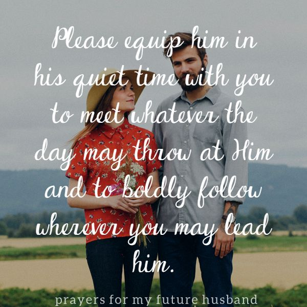 Prayers for My Future Husband, Day 4 http://alovelycalling.com/prayers-for-future-husband-2/