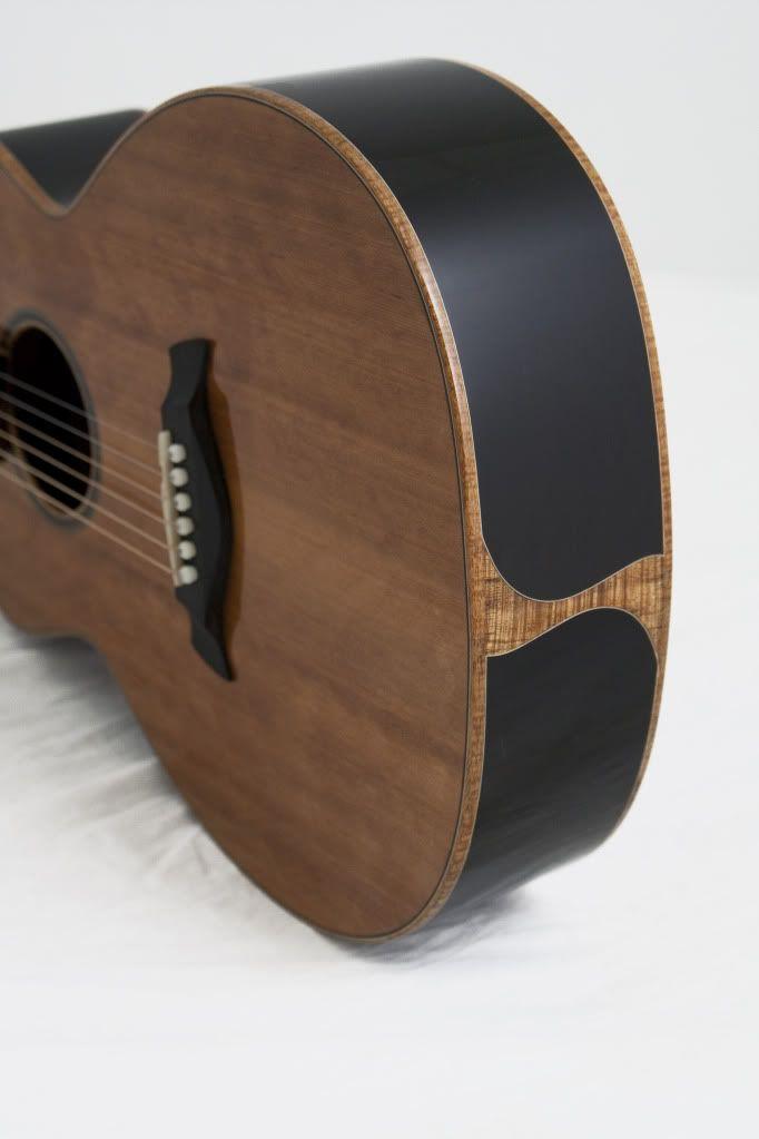 African blackwood acoustic guitar