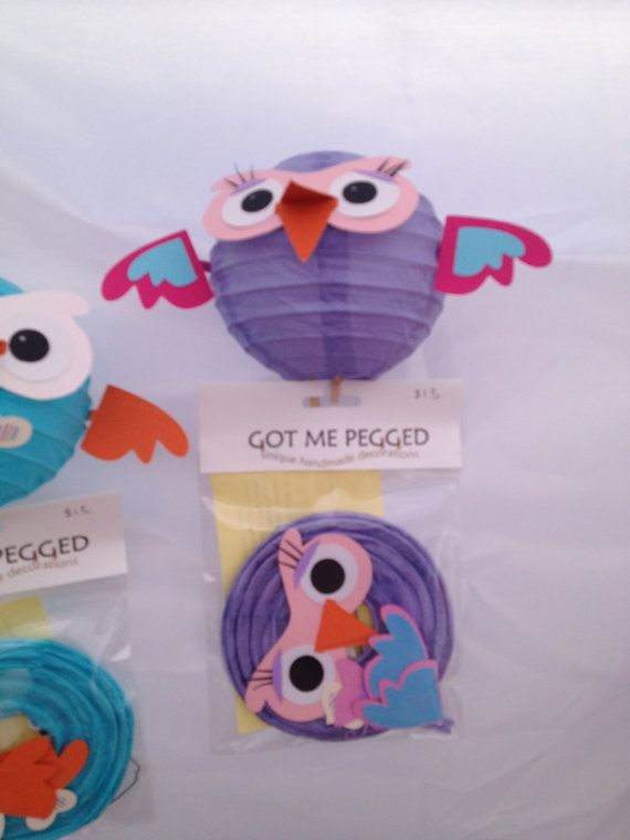 Hootabelle owls - Etsy So cute!
