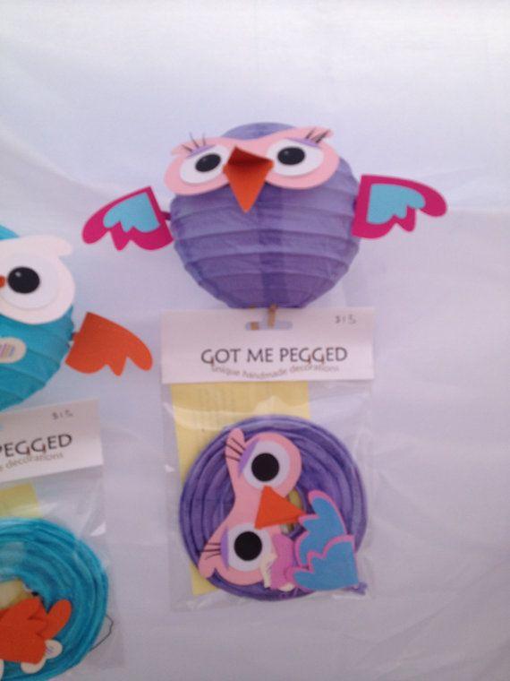 Hootabelle owls - Etsy  So cute!