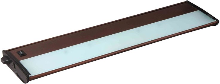 "Maxim 87842 21"" 3 Light Linkable Xenon Under Cabinet Light from the CounterMax C Metallic Bronze Indoor Lighting Under Cabinet Light Bars"
